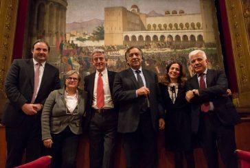 Lo storico sipario di Sciuti torna in scena al Teatro Massimo grazie a Volotea