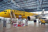 Hertz vola sulle ali di Eurowings, battesimo per l'A320 con livrea speciale
