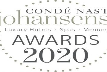 Condé Nast Johansens Excellence Awards 2020, aperte le votazioni