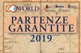 In distribuzione nelle adv 'Partenze Garantite 2019' di Go World