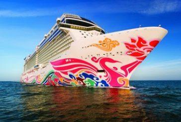 Carnevale a colori con gli scafi d'autore delle navi Norwegian Cruise Line
