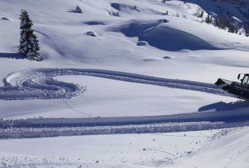 Inaugurata la Pista degli Innamorati nella Ski Area San Pellegrino