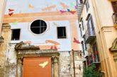 Alla Vucciria di Palermo la street artsalva chiesa abbandonata