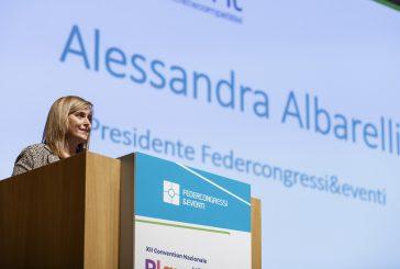 Alessandra Albarelli confermata presidente di Federcongressi&eventi