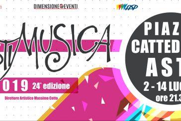 A luglio torna l'appuntamento con AstiMusica2019