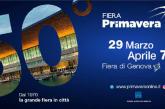A Genova torna l'appuntamento con la 50^ Fiera di Primavera