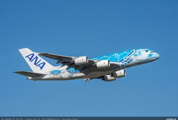 ANA riceve il suo primo A380 da Airbus