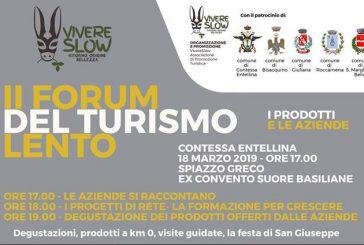 A Contessa Entellina il Forum del Turismo Lento