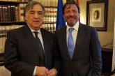 Orlando riceve Sir Rocco Forte, nuovo proprietario del Grand Hotel Villa Igiea