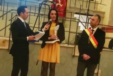 Angela Macaluso riceve il Premio Internazionale Universo Donna
