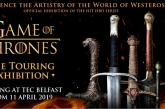 A Belfast con Aer Lingus per la mostra immersiva del 'Trono di Spade'