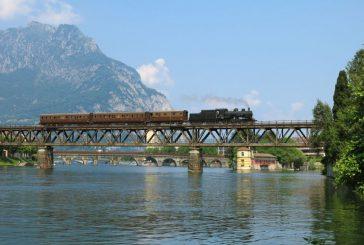 Ad aprile debutta il 'Lario Express', a bordo dei treni storici da Milano a Lecco