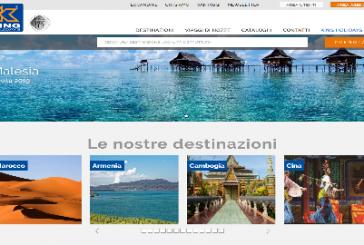 Online nuovo sito e piattaforma trade per King Holidays