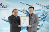 Bangkok Airways riceve l'Awarded Superbrands Thailand 2018
