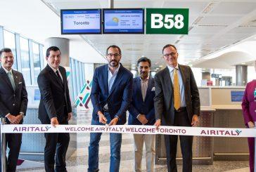Air Italy inaugura il primo volo non-stop Milano-Toronto