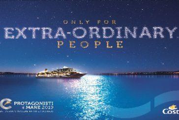 Sarà 'extra-ordinaria' la nuova edizione di 'Protagonisti del Mare', evento Costa per adv