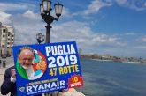 Ryanair sigla nuovo accordo con AdP e lancia 2 nuove rotte da Bari e Brindisi