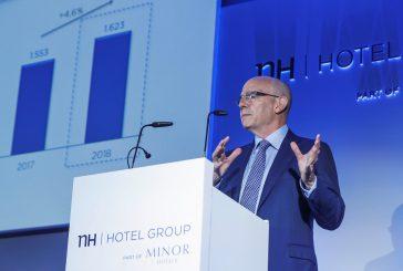Inizio d'anno positivo per NH Hotel Group: ricavi a +,7% e ebitda a +33%