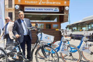 Turismo e mobilità, Orlando inaugura il Cit di Mondello