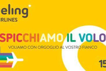 Vueling sostiene il Roma Pride e partecipa alla grande parata romana
