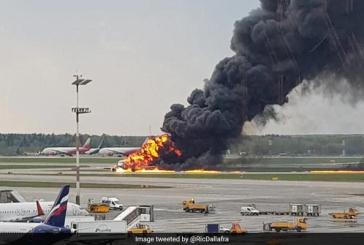Il Superjet 100 colpito da un fulmine, Aeroflot parla di 'motivi tecnici'