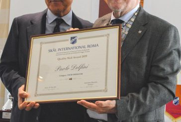 Quality Skal Awards 2019: Paolo Delfini premiato nella categoria Tour Operator