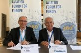Ryanair sigla partnership con Cefa Aviation per migliorare il training dei piloti