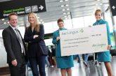 Aer Lingus e UNICEF, insieme raccolti 22 mln di euro in 22 anni