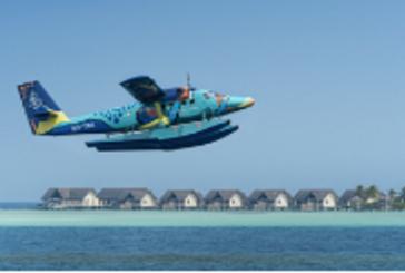 Maldive, ecco Flying Triggerfish, l'aereo più colorato del mondo firmato Four Seasons