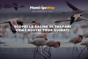 Flamingo Way, la nuova proposta di Manita Sicily per ammirare le Saline con 4 tour emozionali