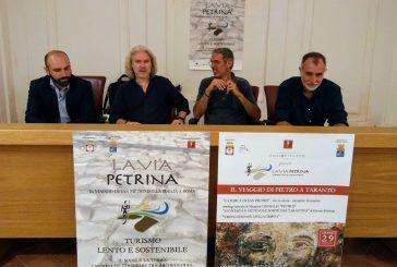 'La via Petrina', itinerari slow lungo le tappe compiute da San Pietro