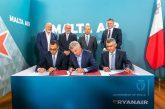 Ryanair punta ancora su Malta attraverso l'acquisizione di Malta Air