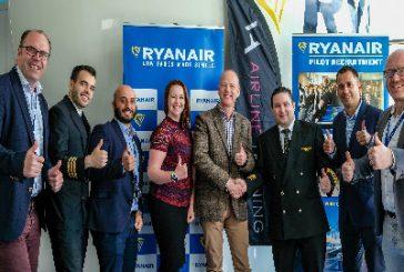 Ryanair lancia nuovo programma formazione per piloti con Va Airline Training