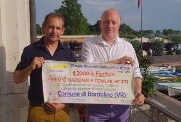 Consegnato il premio 'Comuni Fioriti' a Bardolino