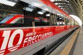 Fs festeggia 10 anni di Frecciarossa: nell'orario estivo 437 treni al giorno
