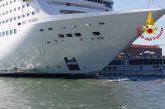 Incidente a Venezia tra nave Msc e battello: a mare anche il governo