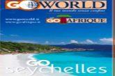 Al via 'Go Seychelles', nuova promozione di Go Afrique