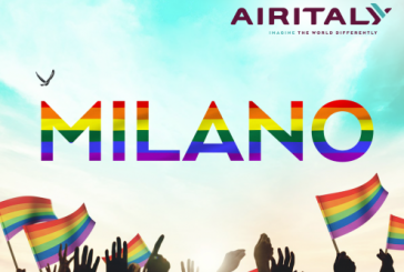 Air Italy è vettore ufficiale e partner del Milano Pride
