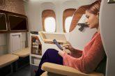 Emirates potenzia il servizio wifi a bordo dei suoi aerei diretti negli Usa