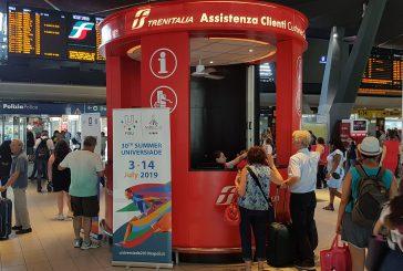 Trenitalia vettore ufficiale dell'Universiade Estiva Napoli 2019