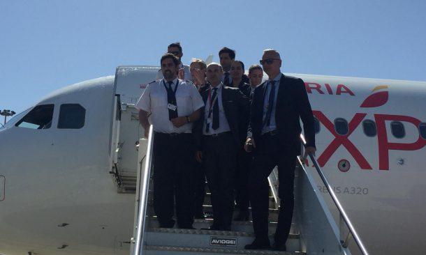 Bari, inaugurato il volo Iberia Express per Madrid: due collegamenti a settimana