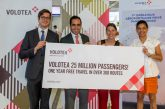 Volotea ha raggiunto i 25 mln di pax e celebra traguardo a Nantes