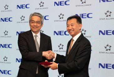 Star Alliance e NEC Corporation siglano accordo per migliorare l'esperienza dei pax