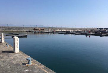 Al via i lavori al porto turistico di Riposto: presenti Musumeci e Falcone