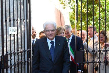 Colle Infinito, Mattarella inaugura l'Orto delle Monache