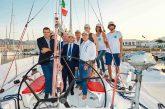Le eccellenze siciliane fanno rotta in barca a vela verso l'Isola