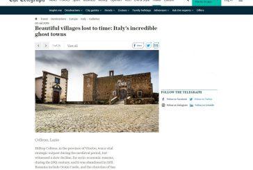 Celleno fra i più bei borghi fantasma d'Italia secondo il Telegraph