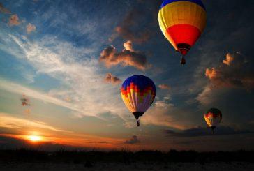 Al 'Paestum Balloon Festival' soggiornando all'Hotel Santa Caterina d'Amalfi