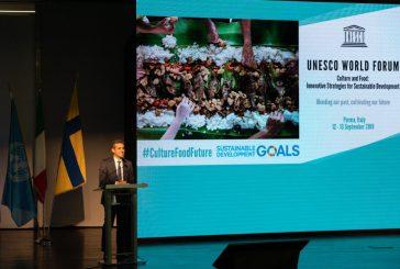 Sostenibilità e riciclo parole d'ordine al 4° Forum mondiale Unesco a Parma