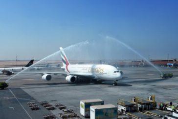 Il Cairo entra a far parte del network dell'A380 di Emirates